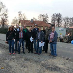 SPD Fraktion in der Bahnhofstraße