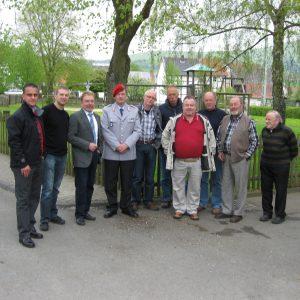 Delegation des SPD Ortsvereins und des SPD Verbundes Edertal mit den beiden Referenten MdB Ullrich Meßmer (3. v.l.)