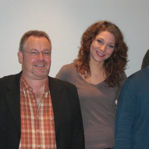 Auf dem Bild von links nach rechts:  Jens Hankel, Karl-Heinrich Neuschäfer, Thea Reuter, Andreas Schaake, Klaus-Müller Csanady