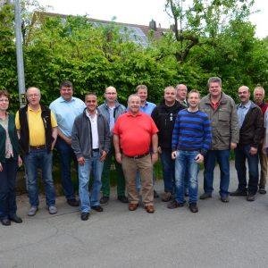 Die SPD Fraktion mit den Ortsbeiräten Böhne und Königshagen