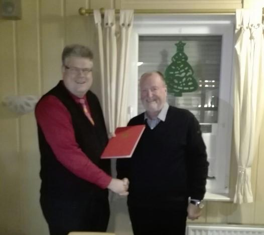 1. Vorsitzender Sascha Wittekind und Bürgermeister a.D. Manfred Heller